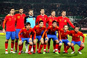 History of the Spain national football team - Austria lost to Spain by a score of 5–1 in November 2009 in Ernst-Happel-Stadion, Vienna