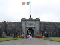 Spike Island Cork Fort Mitchel Gates.jpg