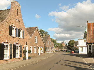 Sprang-Capelle Place in North Brabant, Netherlands