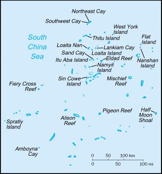 Spratly Islands - The Spratly Islands