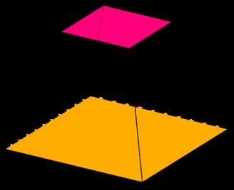 Frustum - Square frustum