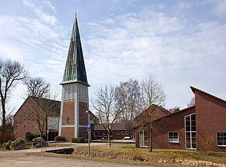 Sassenburg - Image: St. Thomas Kirche in Neudorf Platendorf (Sassenburg) IMG 5849