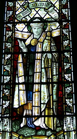 St.David's Cathedral - Thomas Becket-Kapelle 3 Fenster St.David