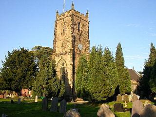 Bulkington village in Warwickshire, United Kingdom