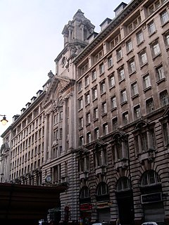 St. James Buildings, Manchester grade II listed architectural structure in Manchester, United kingdom