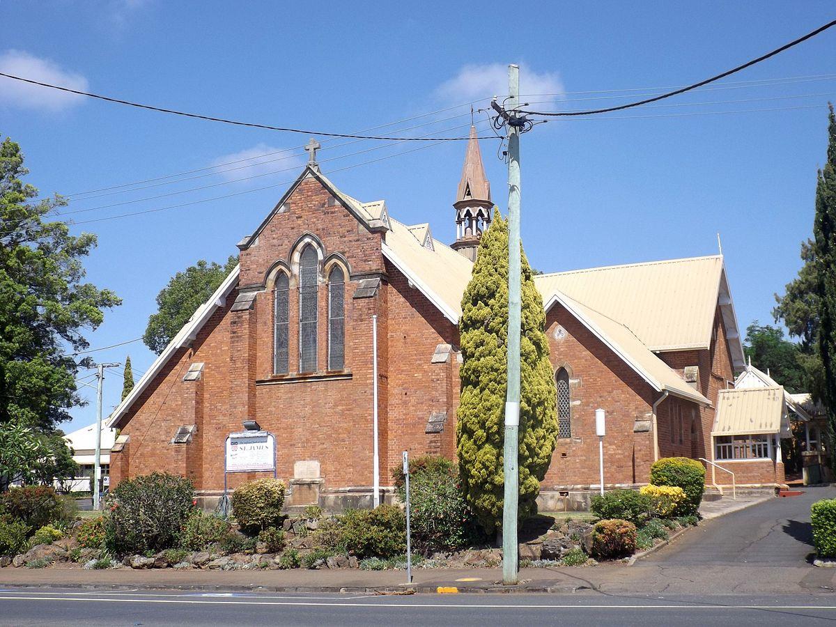 St James Anglican Church Toowoomba Wikipedia