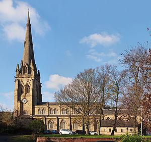 St John's Minster, Preston - Image: St John's Minster Pano