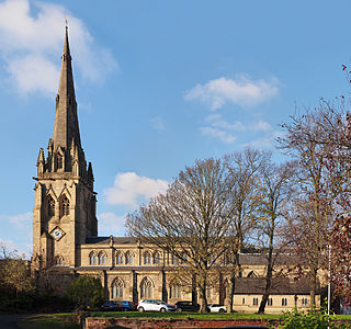 St Johns Minster, Preston Church in Lancashire, England