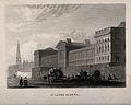 St Luke's Hospital, Cripplegate, London; the facade from the Wellcome V0013216.jpg