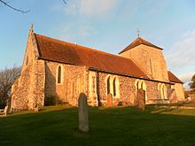 St Margaret's Church, The Green, Rottingdean.JPG