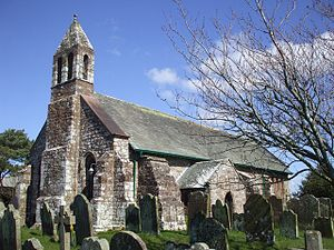 Grade II* listed buildings in Allerdale - Image: St Michael's Church, Bowness on Solway