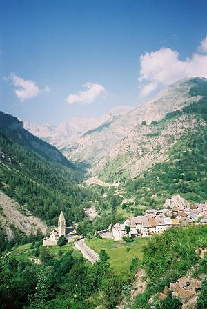 Saint-Dalmas-le-Selvage - A general view of the village