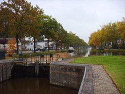 Channel in Stadskanaal
