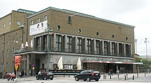 1934 in Sweden - The Gothenburg City Theatre opened in 1934.
