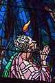 Stained-glass pattern, Saint Vitus Cathedral. Prague, Czech Republic, Western Europe. Jaunuary 8, 2014-3.jpg