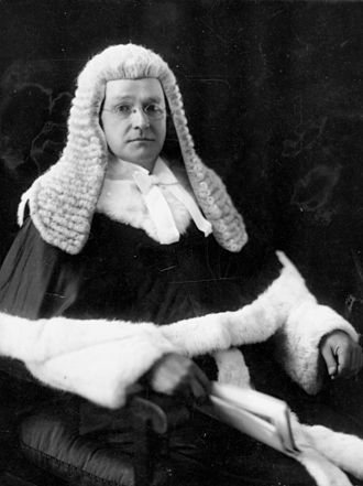Hugh Denis Macrossan - Image: State Lib Qld 1 190315 Judge Hugh Denis Macrossan in his legal dress, Brisbane, 1934