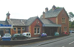 Sidmouth railway station - Station House (formerly station)