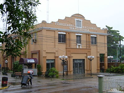 San Pedro Sula's Old Train Station. Station SanPedroSula.JPG