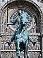 Statue of Jeanne dArc, Place Saint-Augustin, Paris 2012.jpg