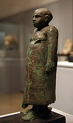 Statue of a public servant, 12th Dynasty Egypt 1800 BC a.jpg