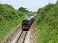 Steam train south of Galmpton - geograph.org.uk - 1295647.jpg