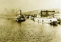 Steamers TJ Potter and SG Reed at Portland ca 1890.jpg