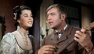 Jerry Van Dyke - Van Dyke with Stefanie Powers in McLintock! (1963)