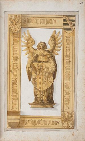 Elisabeth of Brandenburg-Ansbach-Kulmbach - Image: Steiner Memoriae domus Wirtembergicae 057