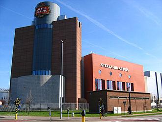 Stella Artois - Stella Artois brewery in Leuven