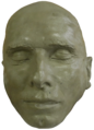 Stepan Bandera death mask.png
