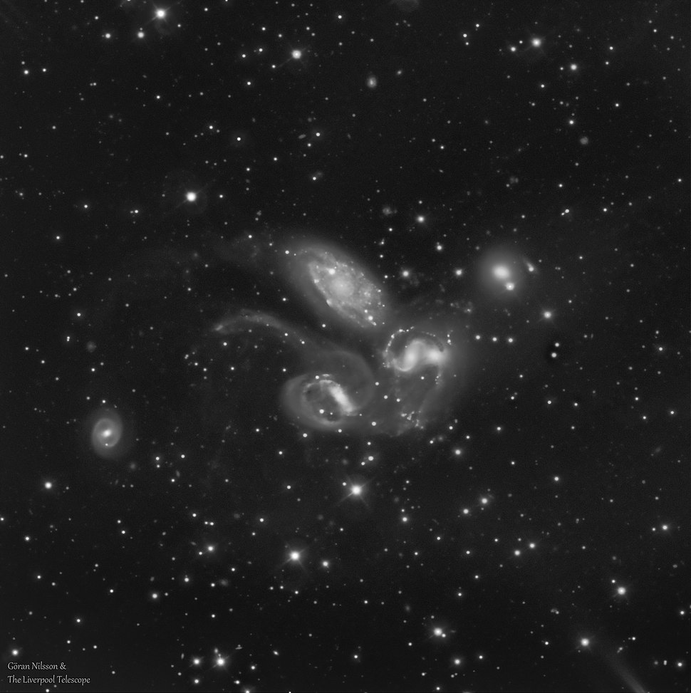 Stephans Quintet sdss-g Goran Nilsson %26 The Liverpool Telescope