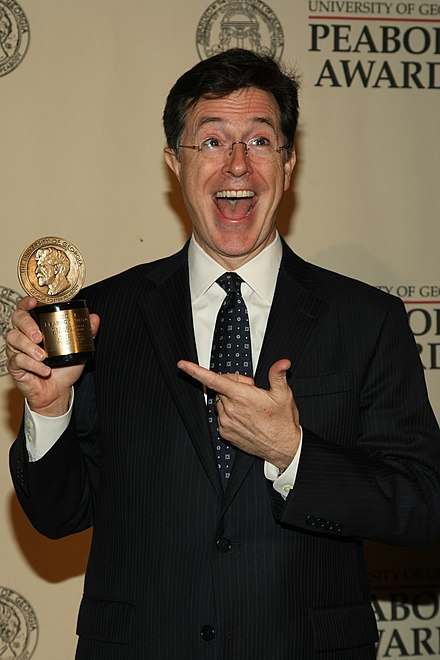 Stephen Colbert at the 71st Annual Peabody Awards