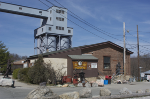 Sterling Hill Mining Museum - Image: Sterling hill mining museum
