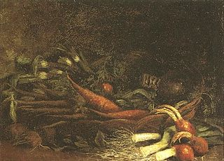 Still Life with a Basket of Vegetables