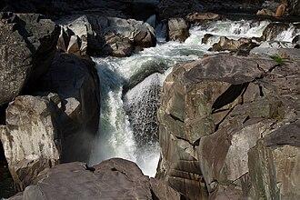 Granite Falls, Washington - The eponymous waterfall on the South Fork Stillaguamish River