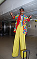 Stilt Walker Welcoming Tourists in South Africa.jpg
