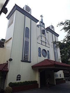 Santo Tomas de Villanueva Church Church in Pasig, Philippines