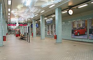 Hötorget metro station - Hötorget metro station on August 8, 2005