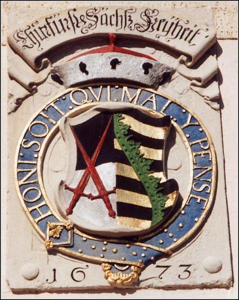 kursächsische  Wappen