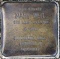 Stolperstein Bayernallee 19a (Weste) Mary Weil.jpg
