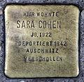 Stolperstein Brückenstr 5 (Mitte) Sara Cohen.jpg
