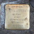 Stolperstein Flora Aronsbach.jpg