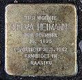 Stolperstein Helmstedter Str 11 (Wilmd) Selma Heimann.jpg