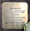 Stolperstein Konstanzer Str 65 (Wilmd) Isidor Gotthilf.jpg