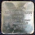Stolperstein Stierstr 21 (Friedn) Julius Herrmann.jpg