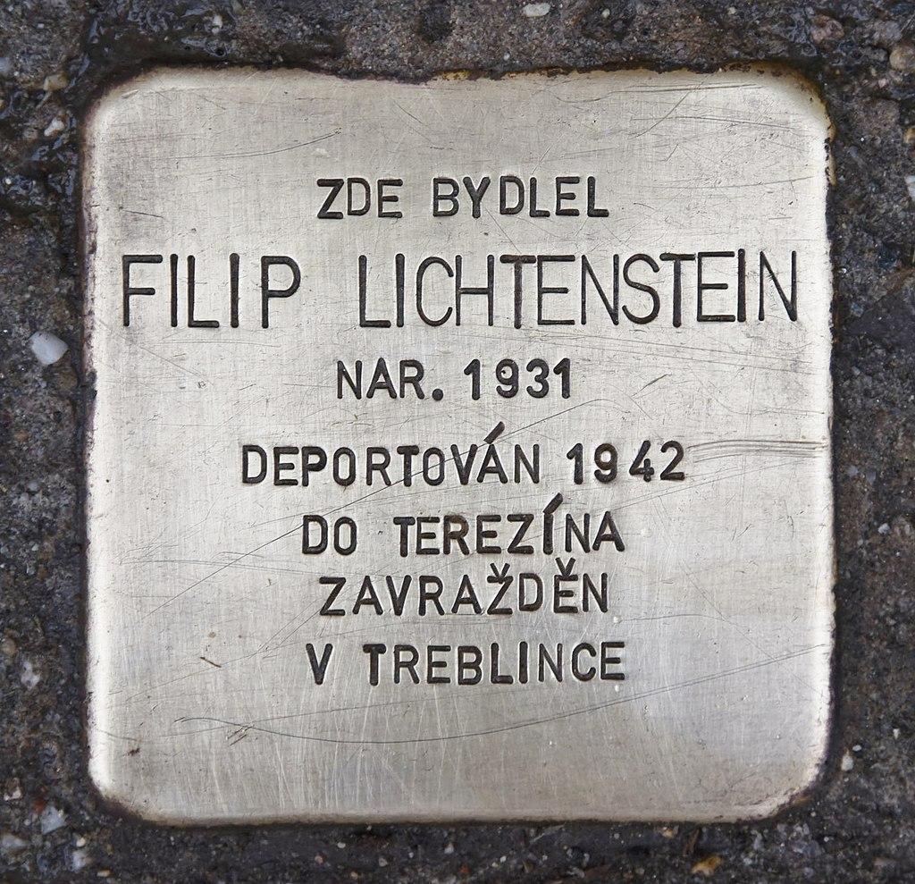 Stolperstein für Filip Lichtenstein.JPG