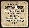 Stolperstein für Herta-Irene Konschewski (Cottbus).jpg