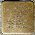 Stolpersteine Krefeld, Emma Italiander (Rheinstraße 67).jpg