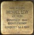 Stolpersteine Krefeld, Michael Levy (Neusser Straße 38).jpg