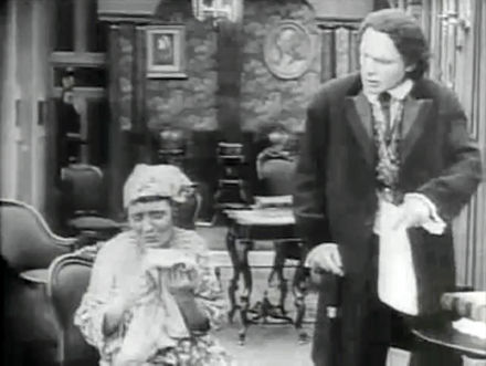 In the 1915 film The Birth of a Nation, Representative Austin Stoneman (played by Ralph Lewis) and his housekeeper Lydia Brown (played by Mary Alden) are considered as standing for, respectively, Thaddeus Stevens and Lydia Hamilton Smith. Stoneman and Brown.jpg
